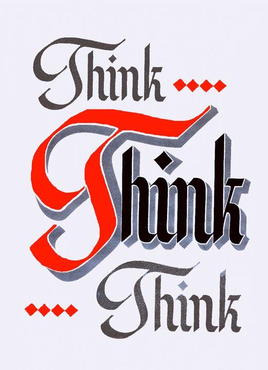 Think Think Think